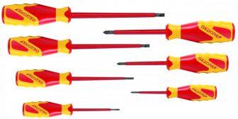 VDE screwdriver set 7 pcs IS 2.5-6.5 PH 0-2 (GEDORE_VDE 2170-2160 PH-077) (1616048)