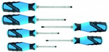 3C screwdriver set with striking cap set 6 pcs (GEDORE SK 2154 PH-06)