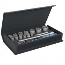 "Socket set 1/2"" in textile bag 15 pieces (GEDORE TC 19-MU-10)"