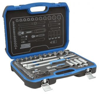 """Socket wrench set 1/4""""+1/2"""" 69 pieces (GEDORE 19 BMC 20) (3108902)"""