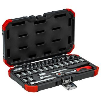 Socket set size4-13mm 33pcs (GEDORE R49003033) (3300051)