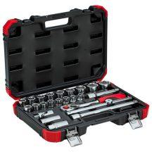 Socket set 1/2 size 10-32mm 24pcs (GEDORE R69003024) (3300055)