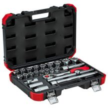 Socket set 1/2 size 10-32mm 24pcs (GEDORE R69003024)
