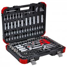 Socket set 1/4+3/8+1/2 172pcs (GEDORE R45603172) (3300058)