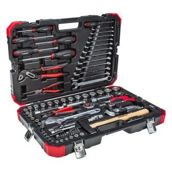 Socket set 1/4+1/2 size10-32mm 100pcs (GEDORE R46003100) (3300063)