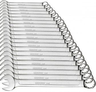 Combination spanner set size6-32mm 21pcs (GEDORE R09105021) (3300991)
