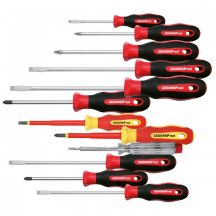 Screwdriver set PH+PZ+LS 2C-handle 12pcs (GEDORE R38002012)