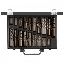 Twist drill set d.1-10mm 0.5pitch 170pcs (GEDORE R93500170)