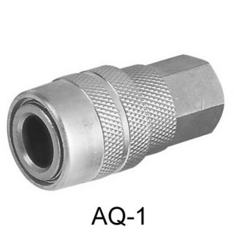 "AIR CONNECTOR1/4"", US-Type, Internal thread, Female (AQ-1)"