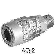"""AIR CONNECTOR, 1/4"""" US-Type, External thread, Female (AQ-2)"""
