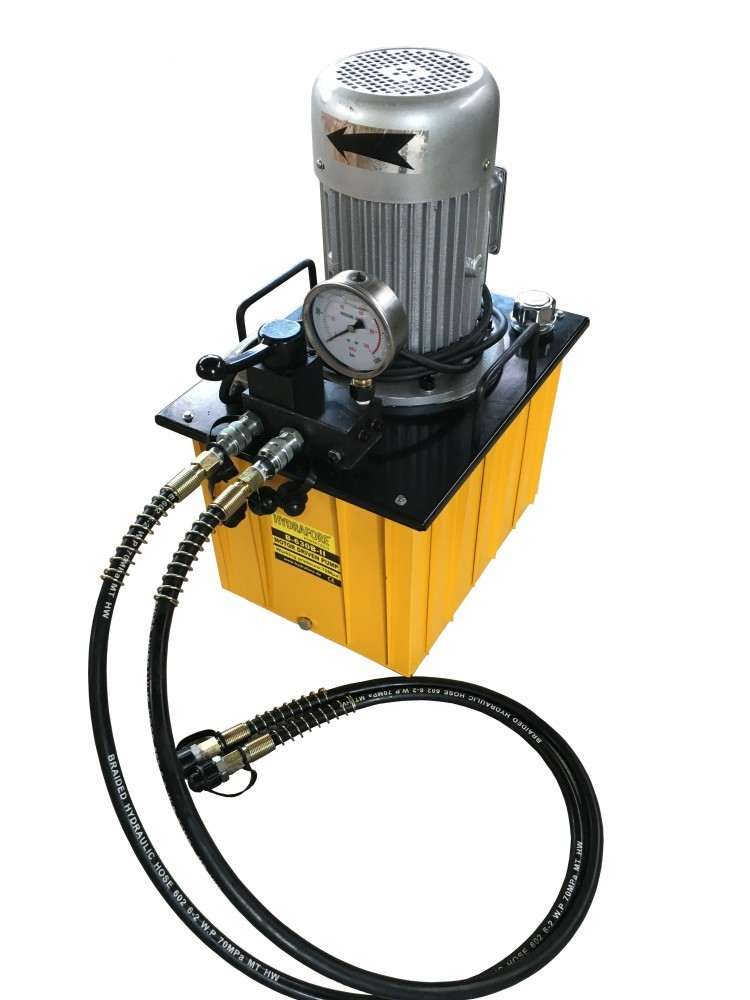 Electric Hydraulic Pump >> Electric Driven Hydraulic Pump Double Acting Manual Valve 700 Bar 35liter 380v