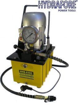 Electric Driven Hydraulic Pump (Single acting manual valve)