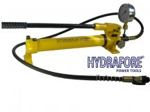 Hydraulic Hand Pump with Pressure Gauge (700 Bar - 700 cm3) (B-700B)