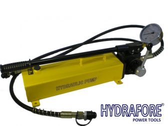 Double Acting Hydraulic Hand Pump with Pressure Gauge (700Bar-3000cm3) (B-700S)