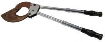 Mechanical cable cutter Ø75 mm (D-75J)