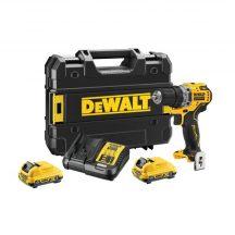 DeWALT 12V XR Brushless Sub-Compact Drill Driver - 2 X 2Ah (DCD701D2-QW)