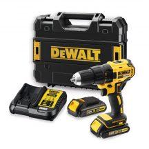 DeWALT 18V XR Brushless Compact Drill Driver - 2 X 2Ah (DCD777S2T-QW)