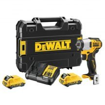 "DeWALT 12V XR Brushless Sub-Compact 3/8"" Impact Wrench - 2 X 2Ah (DCF902D2-QW)"