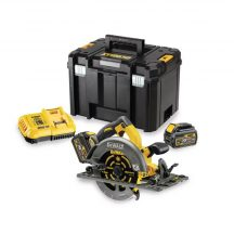 54V XR FLEXVOLT 190mm Rail Compatible Circ Saw - 2 X 6Ah (DCS576T2-QW)