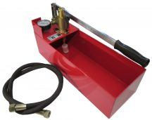 "Pressure Test Pump Hand Pump Manual 50 bar 12 L 30 ML Flow 1/2"" Connection"