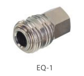 """AIR CONNECTOR 1/2"""", EU-Type, Internal thread, Female (EQ-1)"""