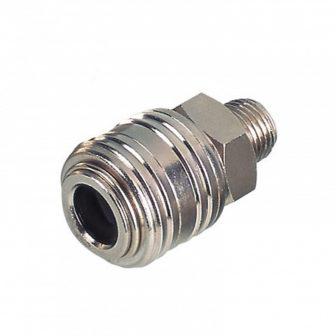 """AIR CONNECTOR, 1/2"""", EU-Type, External thread, Female (EQ-2)"""