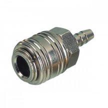 """AIR CONNECTOR, 1/4"""", EU-Type, Hose end, Female (EQ-3)"""