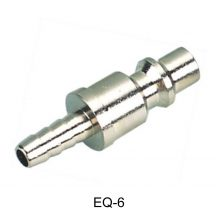 "AIR CONNECTOR, 1/4"", EU-Type, Hose end, Male (EQ-6)"