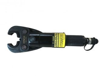 Hydraulic crimper HEAD for Stainless steel pipes / Pipe fittings DN15 - DN50 - Without Pump (F-1550F)