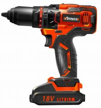 Cordless power drill, 18V, 2000mAh, 13mm, 55Nm (FIXMAN FX-FX-AP18-05)