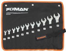 11 Pcs Combination Wrench Set, 8-22mm (FIXMAN FX-B0908)