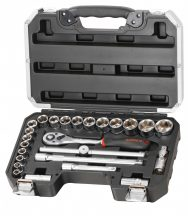 "25-pc 1/2"" Dr. Socket Set (FIXMAN FX-B4025M)"