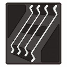 4-pc Ring Spanner 18-32mm, 395x350x55mm (FIXMAN FX-F1.BT05.2)