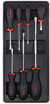 7-pc Slotted Screwdrivers 390x175x50mm (FIXMAN FX-F1.BT25)