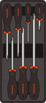 7-pc Philips Screwdrivers 390x175x50mm (FIXMAN FX-F1.BT26)