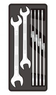 10-pc Open-end Spanner 6-32mm, 390x175x50mm (FIXMAN FX-F1.BT32)