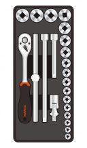 """22-pc 1/2""""Dr.Sockets & Accessories (FIXMAN FX-F1.BT37)"""
