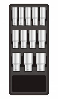 "12-pc 1/2"" Dr. Deep Sockets, 390x175x50mm (FIXMAN FX-F1.BT63)"