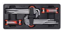 4-pc Hex Keys, Extra Long+Torx, 390x175x50mm (FIXMAN FX-F1.BT83)