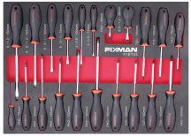 21-PC Screwdriver Set, 525x390x45mm (FIXMAN FX-F1.ET03)