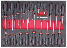 21-PC Screwdriver Set, 525x390x45mm (FIXMAN FX-F1.ET03)