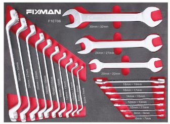 20-PC Wrench Set, 6-32mm, 525x390x55mm (FIXMAN FX-F1.ET06)