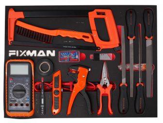14-PC File & Cutting Tool Set, 525x390x45mm (FIXMAN FX-F1.ET08)