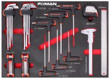13pcs Hex Keys Tool Set (FIXMAN FX-F1.ET09)