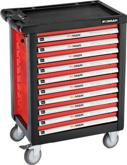 10-Drawer Roller Cabinet, 958×766×465mm, 300kg (FIXMAN FX-F1RP10)