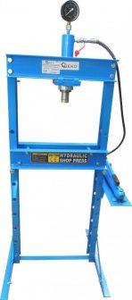 Shop Press with Pressure Gauge 20T (GEKO G02087)