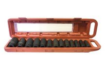 "1/2"" Drive Impact Socket Set 10 mm -  32 mm , 13pcs"
