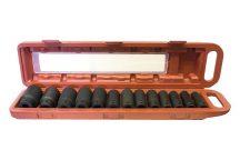 "1/2"" Drive Impact Socket Set 10 mm - 32 mm , 13pcs (JQ-12-13set)"