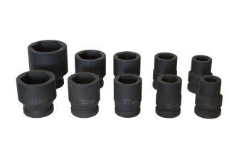 "3/4"" Drive Impact Socket Set, 10pcs (JQ-34-10set)"
