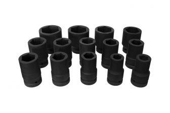 "3/4"" Drive Impact Socket Set 17mm - 50mm, 14pcs (JQ-34-14set)"